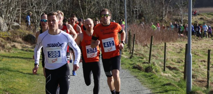 Gode resultater for STriK under Hålandsvannet Halvmaraton
